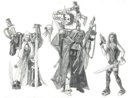 Our 40k party by Nagash6