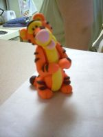 Fimo Tigger by ryliecat