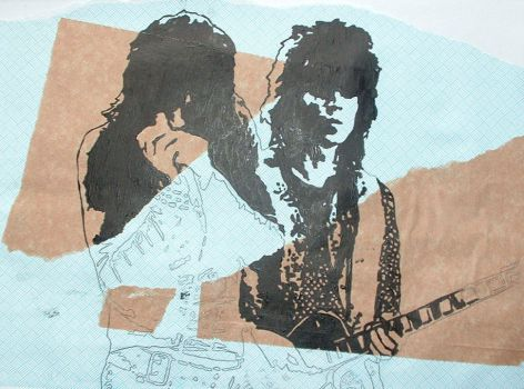 Mick and Keith by LostProperty