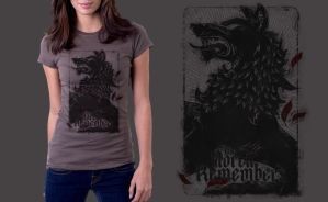 The North Remembers (qwertee) by 7Narwen