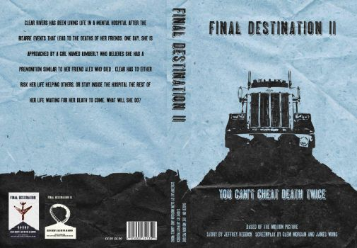 Final Destination 2 Book Cover by chadpowell