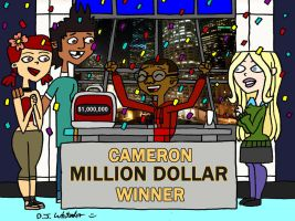 Cameron Wins $1,000,000 by DJgames