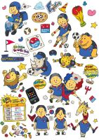 Domino Pizza World Cup Sticker by sakiroo