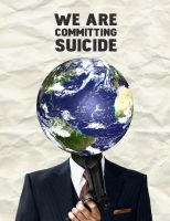 Global Warming - Suicide by GunterSchobel