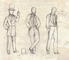 Victorian Men's Clothing 294-297 by Silent--Haze