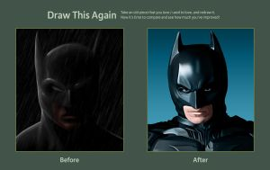 Batman BTS entry by Mattspaintings