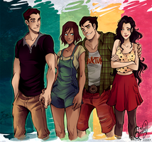 Modern Team Avatar by Gretlusky