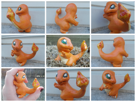 Charmander by HunterHeroici