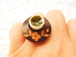 Green Tea Ring by souzoucreations
