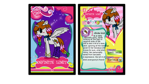 Infinite Limit Trading Card by Cookie--Bear