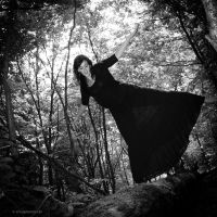 I saw a fairy in the woods 1 by EvaShoots