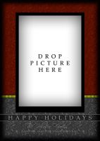 Holiday Card Template 3c by gonzalu