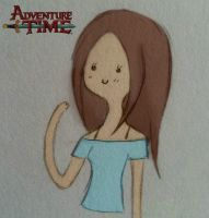 Draw Yourself in Other Styles Adventure Time by DeathAuther