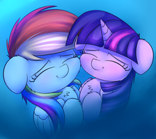Cuddles n' Sh** by HeavyMetalBronyYeah