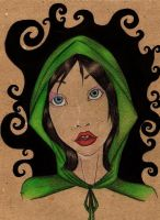Green Witch by matali