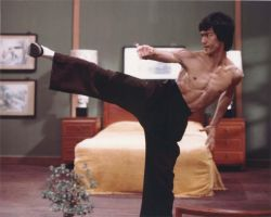 Bruce Lee by TroGLoD