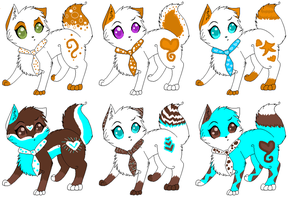 Adoptable cats 4 by Jingle2626
