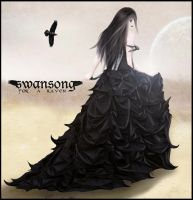 Swansong for a Raven by cyriademonia