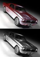Ford Mustang by lzooml