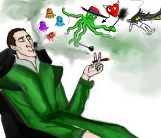 Loki and glitches. by Lucius007