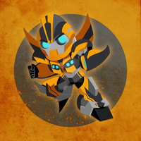 Chibi Bumblebee by NightLokison