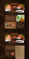 Small Restaurant by neilan by templateartists