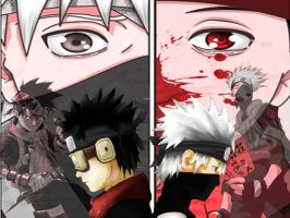 Kakashi+Obito by kayts99