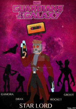 Guardians of the Galaxy by GTR26