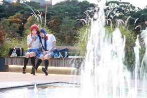 Love Live! - Maki x Umi by Xeno-Photography