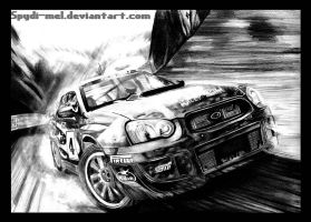 Collin Mcrea Rally : Subaru by Spydi-mel