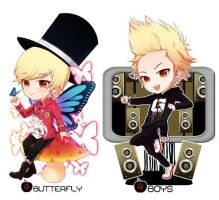 GD BUTTERFLY AND BOYS by jessy-izan