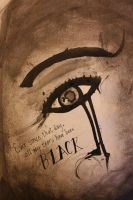 All my tears are black by ravenandwren