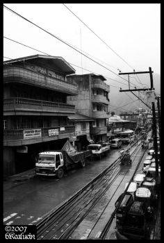 bontoc street by lunardevotions