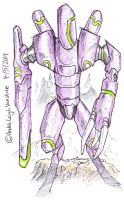 Jaeger by andrevanstone2009 by Robot-drawing-club