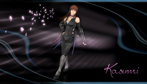 Kasumi render Wallpaper by ArRoW-4-U