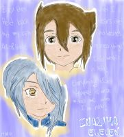 IE: Endou and Kazemaru by HeiwaNoUta
