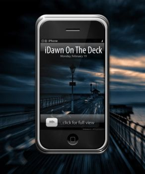 iDawn On The Deck wallpaper by iTouchPhone-Group