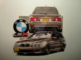 BMW done by przemus