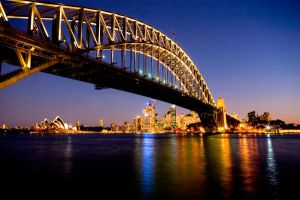 Sydney Harbour by ryan127