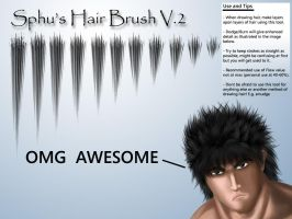 Sphu's Hair Brush V.2 by sphu
