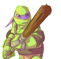 TMNT: Donnie by Fulcrumisthebomb
