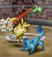 Pokeswap - Battle by Blizzardpaw