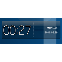 S4 Digital Clock 2 by milicevic434