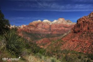 View of Zions by mjohanson
