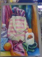 Final Still Life Painting by rainbow24