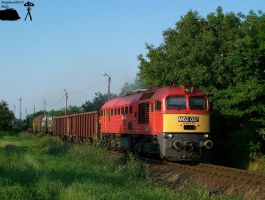 M62 057 with freight in Gyorszabadhegy... by morpheus880223