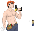 Nick is good at drilling in color by TakeNoShit