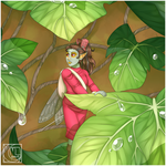 YCH Ghibli Challenge: Arrietty by Little-Noko