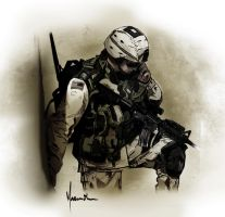 Soldier by edde