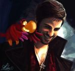 Hook and Iago by Katay